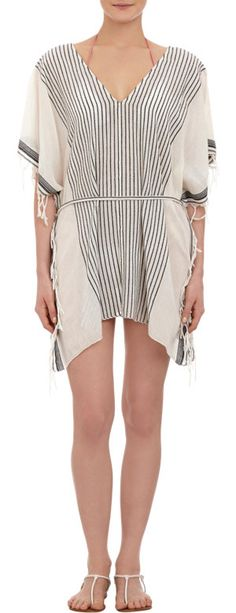 Su Striped Tunic Cover-up at Barneys.com