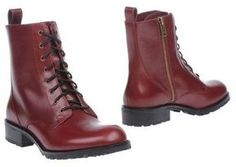 Lace- up boots / (ショップスタイル): Marc by Marc Jacobs  (マークジェイコブス) ワークブーツ