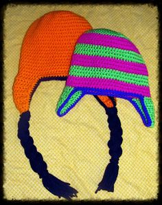 Earflap hat All Sizes Free Shipping in US by NStitchesCrochet, $14.00