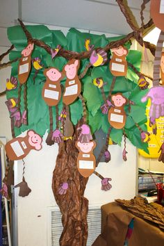 Jungle Animal Craft For Kids Jungle Activities, Rainforest Activities, Jungle Crafts, Rainforest Habitat, Rainforest Theme, Vbs Crafts, Crafts For Kids, Amazon Rainforest, Rainforest Classroom