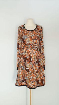 kjole str. 38 Handmade Dresses, High Neck Dress, Blouse, Tops, Fashion, Summer, Turtleneck Dress, Moda, Fashion Styles