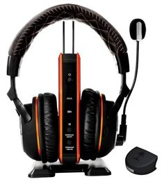 Turtle Beach Call of Duty: Black Ops II Tango Programmable Wireless Dolby Surround Sound Gaming Headset is a fully programmable audio presets. This was designed to let you Hear Everything and dominate.