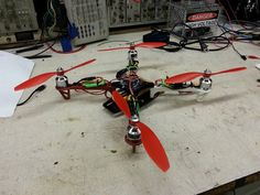 Up to 5 examples from where you can learn how to build a homemade quadcopter using motors, sensors, batteries, and a lot of other components.