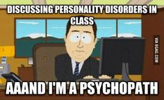 How I feel studying criminal psychology lol