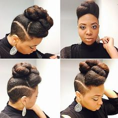 updo shaved sides updo hairstyles for long hair fresh wedding hair updo indian 10 super easy updo hairstyles tutorials popular … Shaved Side Hairstyles, Easy Updo Hairstyles, African Hairstyles, Natural Hair Cuts, Natural Hair Updo, Natural Hair Styles, Crochets Braids, Locks, Sassy Hair