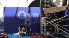Making of (timelapse) - O cabo submarino num mar de conetividades