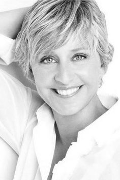 "Ellen DeGeneres...Funny Lady Who Made It Immulating Her Hero, Bob Newhart...Even ""Coming Out"" Before It Was Fashionable, This TV Sitcom & Talk Show Host Never Lost Popularity or Likeability In What Can Be A Very Cruel Profession...Her ""Ellen"" Show Is In Syndication Nationwide With Great Ratings & Everyone, It Seems, Loves Ellen..And Her Wonderfully Funny Mom, Too...Try Not To Like Her...It's Impossible...Laughter & Guts...She's Here To Stay!!"