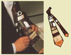 Une cravate portefeuille
