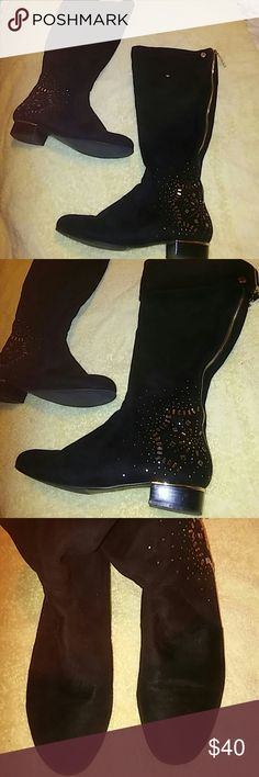 Stuart Weitzman black heeled ankle boots NWT