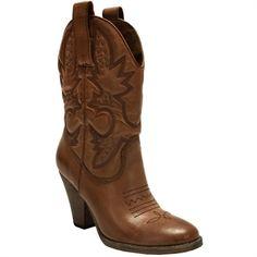 Mia Larah Short Western Boot #VonMaur