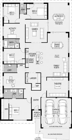 The bordeaux floorplan craftsman floor plans, cabin floor plans, 4 bedroom house plans, Floor Plan 4 Bedroom, 4 Bedroom House Plans, Family House Plans, New House Plans, Dream House Plans, Modern House Plans, Small House Plans, Farmhouse Floor Plans, Cabin Floor Plans