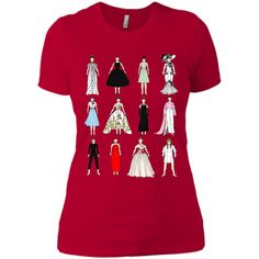 Outfits of Audrey Hepburn Fashion T-Shirt