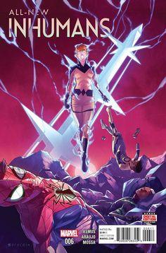 All-New Inhumans #6 Marvel Comics (2016)