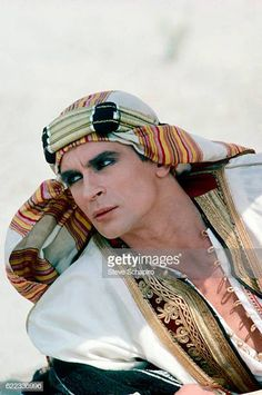 Russianborn French ballet dancer and actor Rudolf Nureyev in a scene from the film 'Valentino' 1976