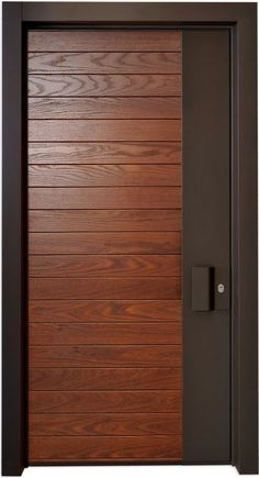 Pin By Isabelbunz On My In 2019 Room Door Design . 8 Ideas And Ways For Concealed Doors In Your Home Home . Prefab Lake Cottage With Unfinished Wooden Walls DigsDigs. Flush Door Design, Door Design Interior, Main Door Design, Wooden Door Design, Bedroom Door Design, Modern Interior, Contemporary Interior Doors, Stylish Interior, Bedroom Doors