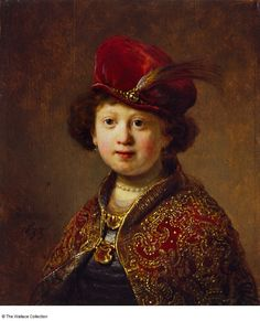 Rembrandt-A Boy in Fanciful Costume- 1633-