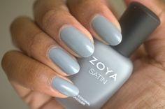 Zoya Naturel Satins nail polish collection