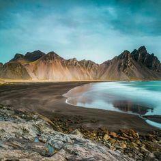 """Majestic Vestrahorn"", Höfn, Iceland.  Photo by rashid.ramdan (Instagram)"
