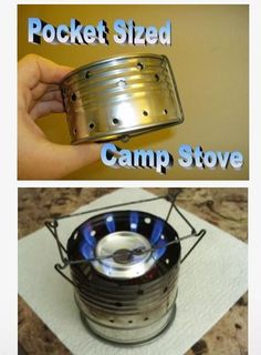 Home-Made Pocket Camp Stove
