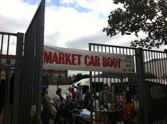 Holloway car boot sale