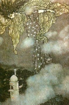 Edmund Dulac illustration from The Rubaiyat of Omar Khayyam, 1934 ...