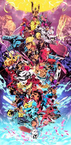 Marvel vs Capcom Art [gallery]
