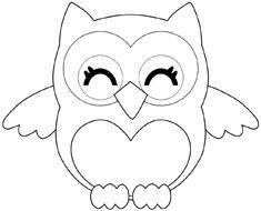 Lechuza Dibujos Para Pintar Estampas y Dibujos Owl coloring pages Animal coloring pages y Art