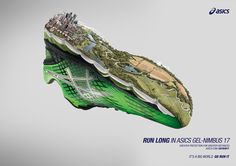 "ASICS ""RUN LONG"" Natural on Digital Art Served"