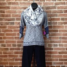 Yes, that is a bicycle scarf!  #ShopNicoles