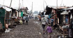 Poverty is growing in Kenyan slums. #poverty #Africa