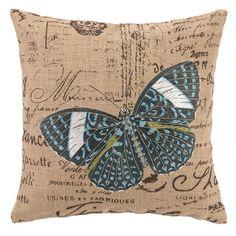D.L. Rhein Papillon Pillow at Joss & Main