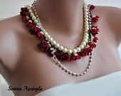 Boho Bride, country weddings,bridal necklace