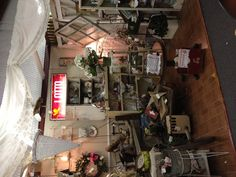 One of my booths at Burleson Antique Mall.