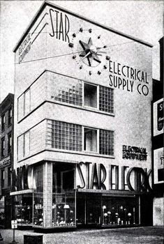Star Electric Building, Newark New Jersey 1938 Newark New Jersey, Art Deco Buildings, Electric, New York, Star, Architecture, Brewing, Vintage, Arquitetura