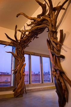 screen capture 9 Driftwood Art by Jeff Uitto in wood art with Wood Upcycled Sculpture driftwood Decoration Art