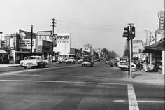 Vintage San Fernando Valley - Reseda Sherman Way 1955