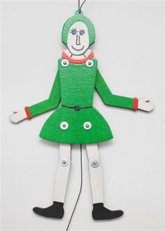 Jumping Jack puppet doll