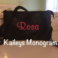 A personal favorite from my Etsy shop https://www.etsy.com/listing/245726125/monogrammed-crossbody-wallet