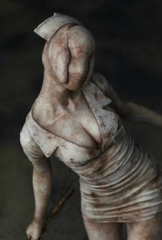 I paint to think: Silent Hill Nurse