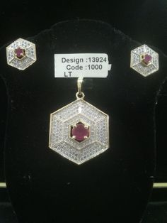 AMERICAN DIAMOND LOCKET SET #Jewellery #Kurtis