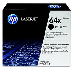 HP 64X CC364X Black High Yield Original LaserJet Toner Cartridge ** You can get additional details at the image link. (Note:Amazon affiliate link) #ElectronicGadgets