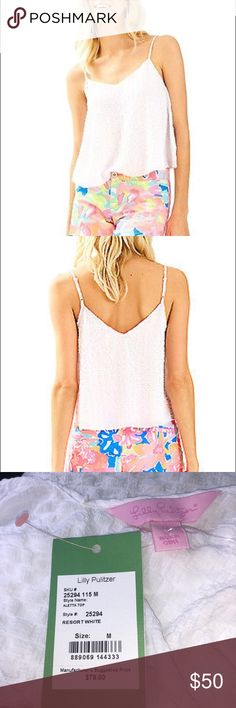 8e3317e7a4d Aletta Top DESCRIPTION: The Lilly Pulitzer Aletta Top pairs perfect with  your favorite Lilly Print