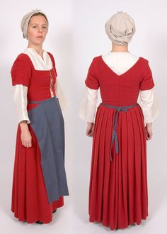 Tudor kirtle of prosperous peasant. Pattern for sale: Women's Patterns | The…