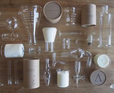Alchemy Produx - Chemistry class nostalgia meets industrial design • Available at thebigdesignmarket.com