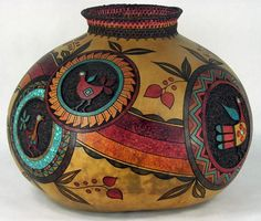 Award Winning Gourds by Judy Richie, Red Cloud Originals Member Texas Gourd Society: