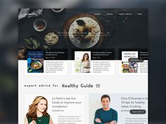 Healthy Lifestyle Website