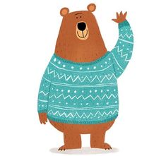 Bear character design Best Picture For Illustration art boy For Your Taste You are looking for something, and it is going to. Bear Illustration, Character Illustration, Animal Illustrations, Bear Character, Character Design, Doodle Bear, Animals Crossing, Art Watercolor, Illustrator