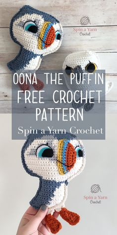 Oona the Puffin - Spin a Yarn Crochet