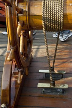 The Rope That Winds around the Ship's Wheel