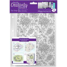 Creative Essentials Background Stamp Floral